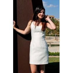 Diana   Short white aztec...