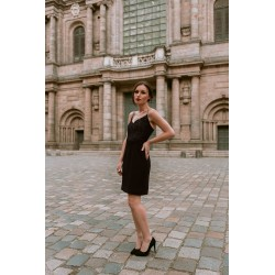 Andrea | Short dress with...