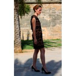 Janis   Short black lace dress